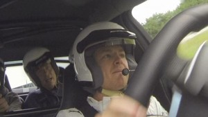 Rosberg and Podolski at Nordschleife