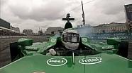 Caterham Unchained: Onboard with Heikki Kovalainen in Moscow, Giedo van der Garde at Leafield