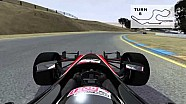 2013 Virtual Lap of Sonoma Raceway