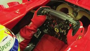 Abu Dhabi GP - A track lap with Felipe Massa