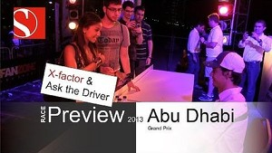 2013 Abu Dhabi GP - Race Preview / Ask the Driver - Sauber F1 Team