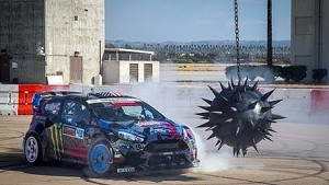 Need for Speed: Ken Block's Gymkhana six, the ultimate Gymkhana grid course