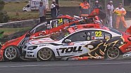 V8 Supercars 2013 - Phillip Island - Premat & Courtney Crash