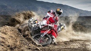 Sam Sunderland prepares for Dakar 2014 in the sand