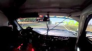 Porsche Crash Conrod Straight 2014 Liqui Moly Bathurst 12 Hour Practice - Replay XD
