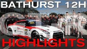 GT-R Returns to Bathurst 12HR - 2014 Race Highlights (Warning: Dramatic!)