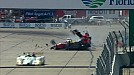2014 United SportsCar Championship 12 Hours of of Sebring David Ostella massive crash