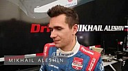 Mikhail Aleshin recaps his first practice session at Long Beach.