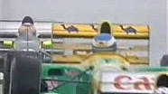 Ayrton Senna The Rain Master Donington 1993 Start