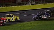 Ryan Blaney Gets Airborne During Crash - 2014 NASCAR CWTS at Charlotte