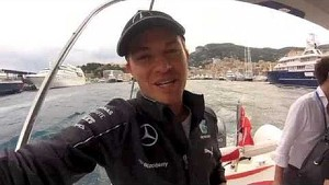Nico Rosberg: Video message after winning Monaco GP