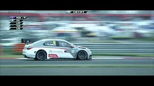 Pechito Lopez en pole at the Moscow Raceway - Citroën Racing 2014