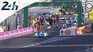 Le Mans 2014: Restart the qualifying session number two aboard the Toyota