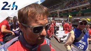Le Mans 2014: Interview of Sebastien Loeb