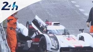 Le Mans 2014:  Retirement of the Audi #3
