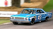 NASCAR Legend Richard Petty reunited with his Plymouth Belvedere GTX