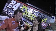 World of Outlaws STP Sprint Car Series 34 Raceway Victory Lane Interviews