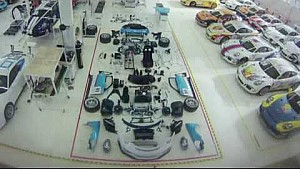 How to assemble a Porsche GT3 Cup car