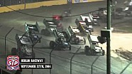 Highlights: World of Outlaws STP Sprint Cars Berlin Raceway September 27th, 2014