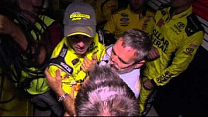 Kenseth tackles Keselowski & brawl ensues - 2014 Charlotte