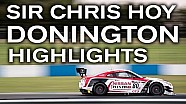 Sir Chris Hoy - Donington British GT highlights