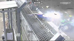 GP3 start crash - Sochi