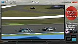 Brake test of Bruno Spengler on Dani Juncadella at Hockenheim