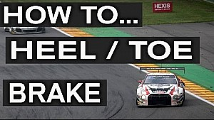 HOW TO HEEL / TOE BRAKE