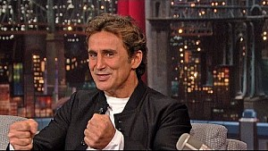 Alex Zanardi talked about the doctor who saved his life with David Letterman