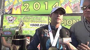 Matt Hagan wins the 2014 Funny Car World Championship