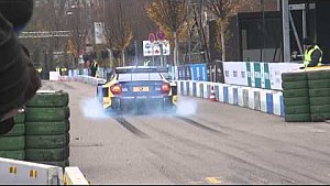 Burnout show with Susie Wolff doesn't go quite right