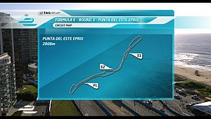 Punta del Este ePrix FP1 highlights