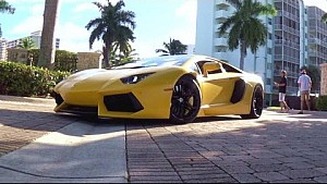 Endless eye-candy. Exotic Car Toy Rally Miami 2014