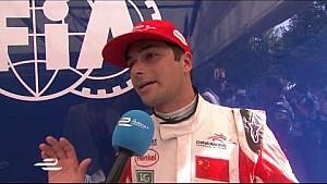 Buenos Aires ePrix Nelson Piquet Jr post-race interview