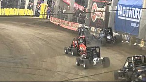 Chili Bowl 2015 Crashes and Flips