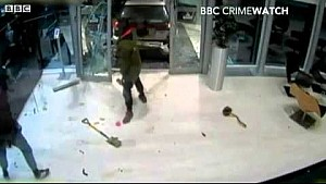 CCTV shows Red Bull trophy break in at Milton Keynes factory