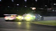 Porsche factory cars crash - 2015 Rolex 24 Hours at Daytona