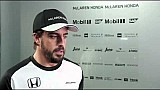 Interview with McLaren-Honda driver, Fernando Alonso
