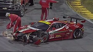 2015 Rolex 24 at Daytona Every Crash, Spins and Things