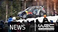 Rally Sweden 2015: Stages 19 - 20