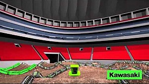 Kawasaki Path Track Map: Atlanta II - Round 9