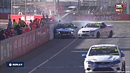 V8 Utes 2015 Adelaide Fane, Oaklands crash