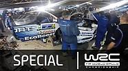 WRC Rally Guanajuato México 2015: Servicio Ott Tanak Fiesta @ M-Sport