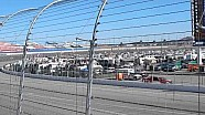 NASCAR Cup Series final laps spectator view