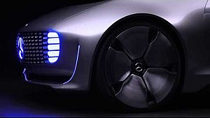 Mercedes-Benz F 015 Luxury in Motion Self-driving car