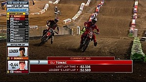 450SX Main Event Highlights