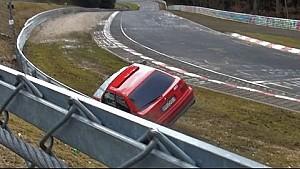 Drift attempt goes horribly wrong at 2015