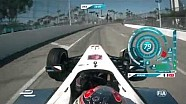 Long Beach ePrix - onboard lap with Jean-Eric Vergne and Scott Speed