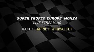 Lamborghini Blancpain Super Trofeo Europe, Monza - Race 1