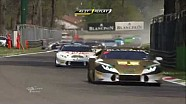 Start crash - Lamborghini Super Trofeo Europe Monza